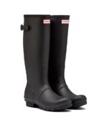 Hunter Boots Original Tall Adjustable Rainboot Black
