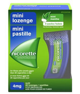 Nicorette Mini Lozenges Fresh Mint 4mg