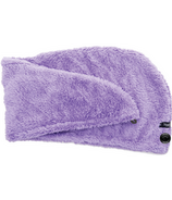 Studio Dry Turban Hair Towel in Purple