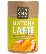 Sencha Naturals Eco Tube Matcha Latte Tropical Mango