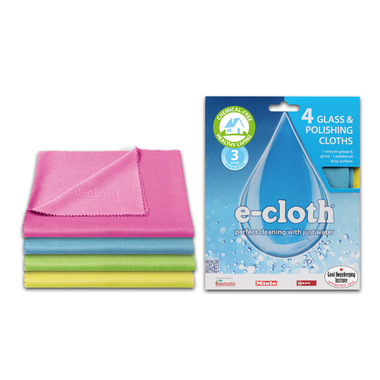 e-cloth Glass & Polishing Cloths