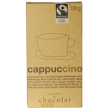 Galerie au Chocolat Cappuccino Chocolate Bar