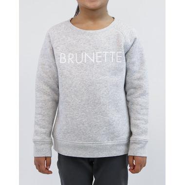 BRUNETTE The Label Brunette Crew Pebble Grey