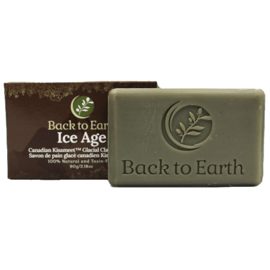Back to Earth Ice Age Bar Soap with Kisameet Clay