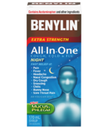 Benylin All-In-One Extra Strength Cough Cold & Flu Night Syrup