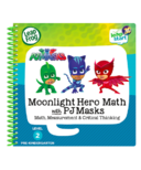 LeapFrog LeapStart 3D Moonlight Hero Math with PJ Masks Activity Book