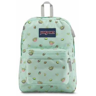 Jansport Super Break Backpack Avocado Party