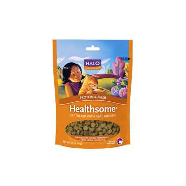 Halo Healthsome Grain-Free Cat Treats With Real Chicken