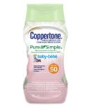 Coppertone Mineral Sunscreen Lotion Pure & Simple Baby SPF 50