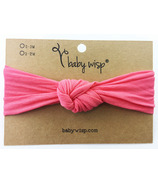 Baby Wisp Headband Turban Knot Coral 3M+