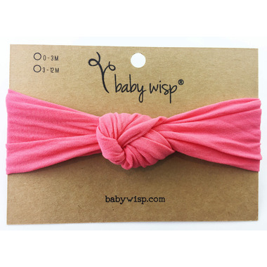 Buy Baby Wisp Headband Turban Knot Coral 3M+ from Canada at Well.ca - Free  Shipping b4dea0c40c8