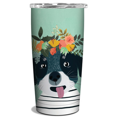 Studio Oh! Insulated Stainless Steel Tumbler Fancy Dog