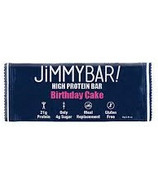 Jimmybar Protein Crunch Bar Birthday Cake