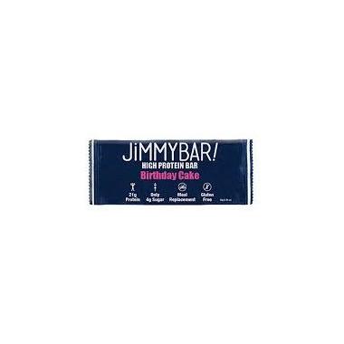Jimmybar Protein Crunch Bar Birthday Cake