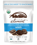 Element Snacks Organic Dark Chocolate Dipped Mini Rice Cakes
