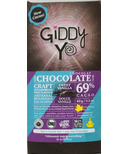 Giddy Yoyo Organic Chocolate Bar Sweet Vanilla