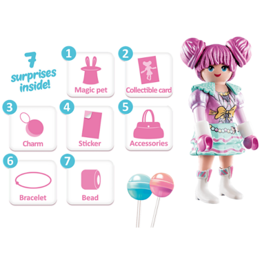Playmobil Rosalee Candy World
