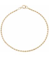 Bluboho Lasso Bracelet 6.5 Inch 14k Yellow Gold