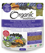Organic Traditions Probiotic Smoothie Mix Berry Burst