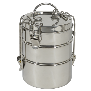 To-Go Ware 3 Tier Stainless Steel Tiffin