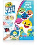 Crayola Color Wonder Mess Free Colouring Baby Shark