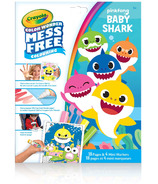 Crayola Color Wonder Mess Free Colouring Baby Shark