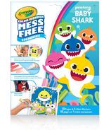 Crayola trousse de coloriage Wonder sans dégâts Baby Shark