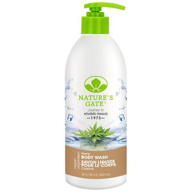 Nature\'s Gate Hemp Velvet Moisture Body Wash