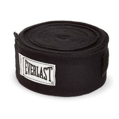 Everlast 108 inch Hand Wraps Black