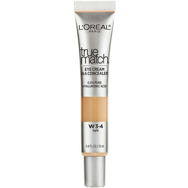 L\'Oreal Paris True Match Eye Cream Concealer with 0.5% Hyaluronic Acid
