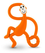 Matchstick Monkey Dancing Monkey Teether Orange