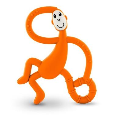 Matchstick Monkey Dancing Monkey Teether Orange