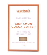 Scentuals 100% Handmade Natural Soap Cinnamon & Cocoa Butter