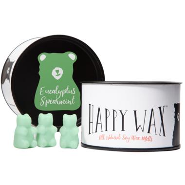 Happy Wax Classic Tin Eucalyptus Spearmint Soy Wax Melts