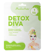 MaskerAide Detox Diva Hydrating Facial Sheet Mask
