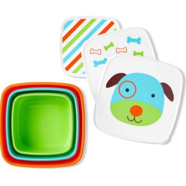 Skip Hop Zoo Snack Box Set Dog
