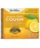 Herbion Sugar Free Cough Lozenges Honey Lemon