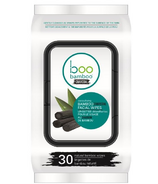 Boo Bamboo Charcoal Cleansing Face Wipes