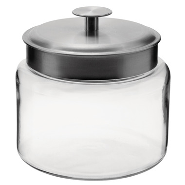Anchor Mini Montana 64 oz. Glass Storage Jar