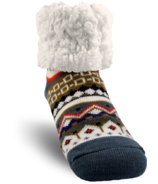 Pudus Classic Slipper Sock Nordic White