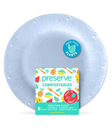 Preserve Compostables Small Plates Blue
