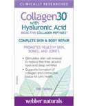 Webber Naturals Collagen30® with Hyaluronic Acid