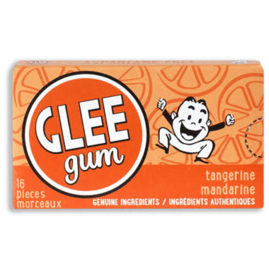 Glee Gum All Natural Tangerine Gum