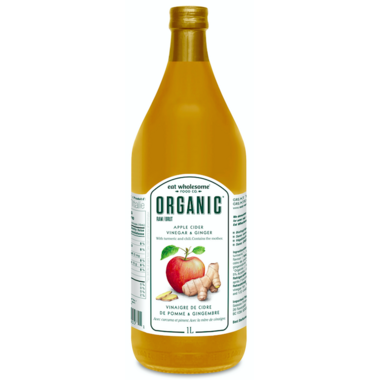 Eat Wholesome Organic Apple Cider Vinegar with Ginger, Tumeric & Chili