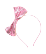 Hatley Rose Shine Bow Headband