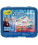 Crayola Frozen ll Create & Colour Case