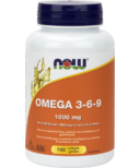 NOW Foods Omega 3-6-9 1000 mg