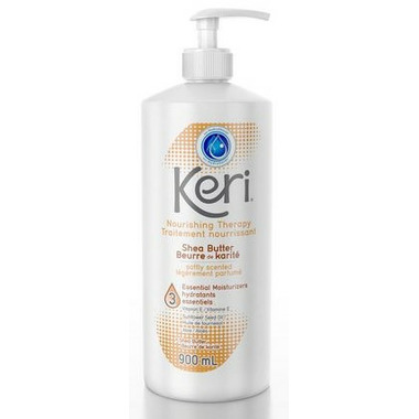 Keri Moisturizing Body Lotion Skin Therapy with Shea Butter 900 mL