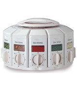 KitchenArt White Select-A-Spice Auto-Measure Carousel