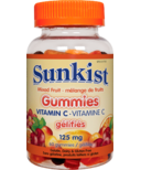 Sunkist Vitamin C 125mg Gummy